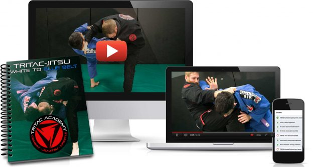 TRITAC Jitsu White To Blue Belt Course Bundle