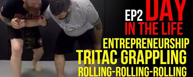 Day in the Life: Martial Arts Entrepreneur & TRITAC Grappling Class