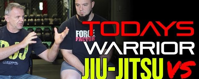 Today's Warrior: Jiu-Jitsu vs Ju-Jitsu vs Everything