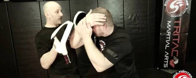TRITAC-UNARMED FLOW 3: Punch Defense, Enter, Elbow Smash, Hammer