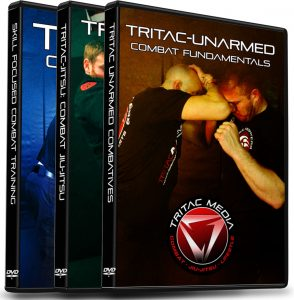 3 TRITAC Self Defense DVDs