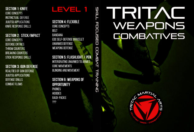 TRITAC Weapons Combat DVD Cover